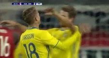 Sam Larsson Goal Hungary 0-1 Sweden HD 15.11.2016
