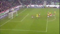 Sam Larsson Lucky Free Kick Goal vs Hungary (0-1)