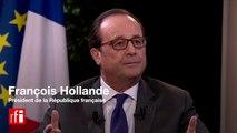 Exclusif - FRANÇOIS HOLLANDE sur RFI