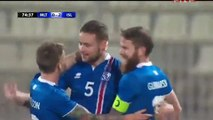 Ingason Goal HD - Malta 0-2 Iceland - 15.11.2016