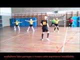 Concours FLASHMOB UNSS Championnat du monde de Handball 2017, AS Collège Descartes Montaigne