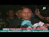 PNP Chief Dela Rosa on Mindoro route security