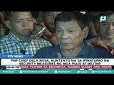 PNP Chief Dela Rosa, kuntento na sa ipinatupad na security measures ng mga pulis at militar