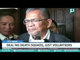 DILG: No death squads, just volunteers
