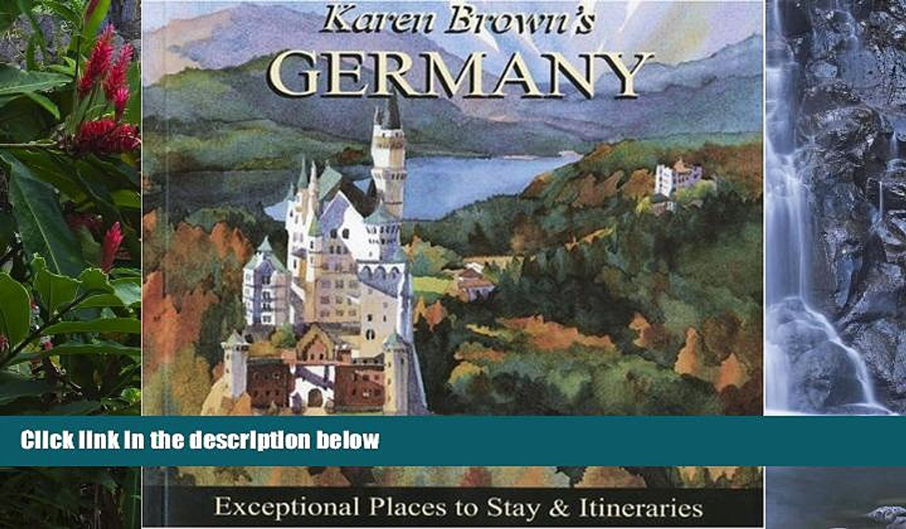 Deals in Books  Karen Brown s Germany 2010: Exceptional Places to Stay   Itineraries (Karen Brown