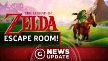 Nintendo Is Making a Legend of Zelda Escape Room - GS News Update