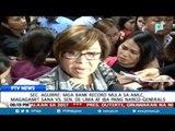 Sec. Aguirre: Mga bank record mula sa AMLC, magagamit sana vs Sen De Lima at iba pang narco-generals