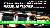 PDF Electric Motors and Drives: Fundamentals Types and Applications
