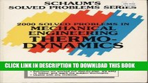 Best Seller 2000 Solved Problems in Mechanical Engineering Thermodynamics (Schaum s Solved