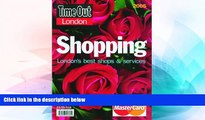 Must Have  Time Out London Shopping: London s Best Shops and Services  Most Wanted