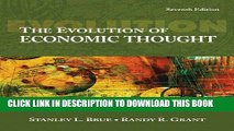 Ebook The Evolution of Economic Thought (with InfoTrac 1-Semester, Economic Applications Online