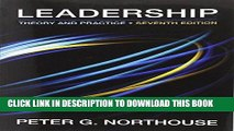 Ebook Leadership: Theory and Practice, 7th Edition Free Download
