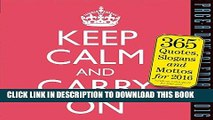 [PDF] Keep Calm and Carry On Page-A-Day Calendar 2016 [Online Books]