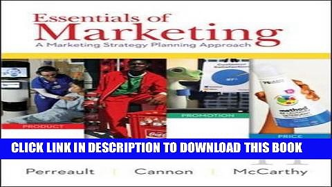 Ebook Essentials of Marketing: A Marketing Strategy Planning Approach Free Download