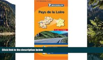 Big Deals  Michelin Map No. 517: Pays de Loire Region (France), Rennes, Angers, Nantes, le Mans