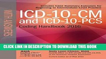 Best Seller ICD-10-CM and ICD-10-PCS Coding Handbook, with Answers, 2016 Rev. Ed. Free Read