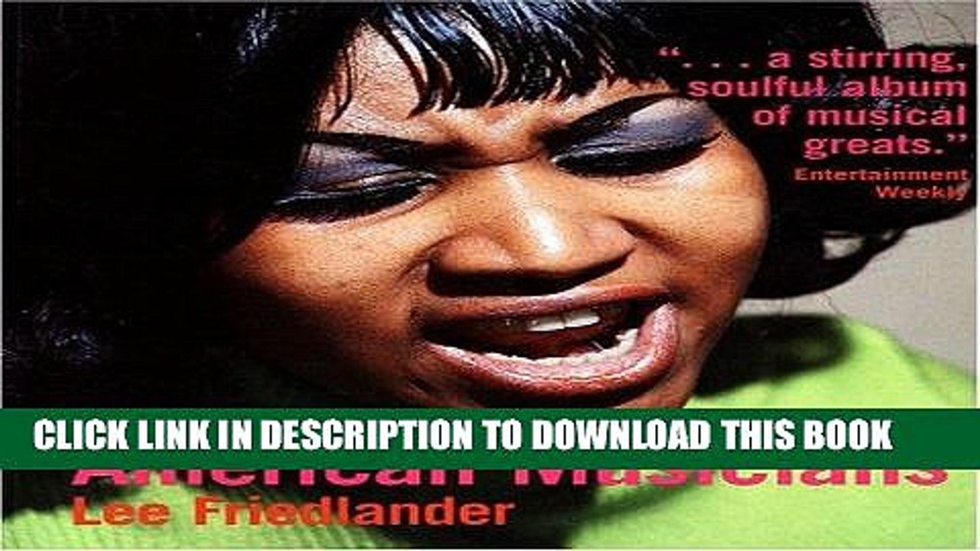 [PDF] Lee Friedlander: American Musicians Full Online