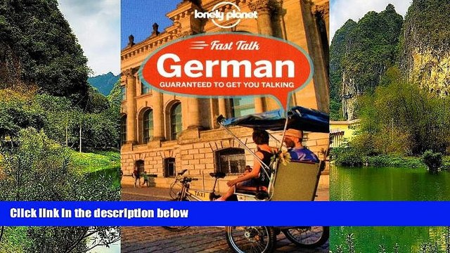 Best Deals Ebook  Lonely Planet Fast Talk German (Phrasebook)  Best Buy Ever
