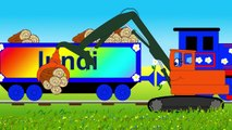 Dessin animé pour enfants - Apprendre les jours de la semaine en français avec le train Tchou Tchou