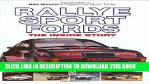 Read Now Rallye Sport Fords: The inside story PDF Book