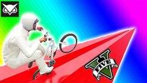 VanossGaming GTA 5 Online Funny Moments - Flying Bike Glitch, World Record, BMX Wins & Fails
