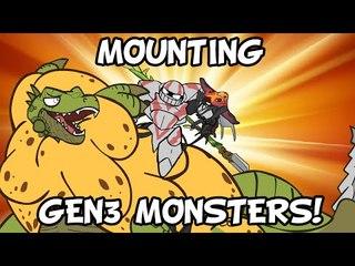MONSTERS of monster hunter: The Mounts