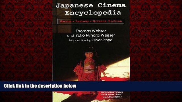 FREE DOWNLOAD  Japanese Cinema Encyclopedia: The Horror, Fantasy, and Sci Fi Films  DOWNLOAD