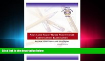 Pdf Online  Adult and Family Nurse Practitioner Certification Examination: Review Questions and