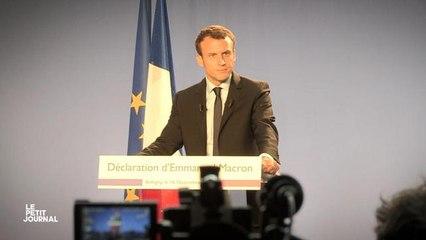 Sandrine au discours de Macron - Le Petit Journal du 16/11 - CANAL+
