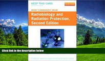 Read Mosby s Radiography Online: Radiobiology and Radiation Protection (Access Code), 2e