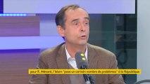 """08h30 APHATIE Pour Robert Ménard, Emmanuel Macron est """"une créature médiatique et l'homme de la banque"""""""