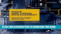 [PDF] Mobi Issues and Crisis Management: Exploring Issues, Crises, Risk and Reputation Full Download
