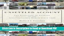 PDF Unsettled Account: The Evolution of Banking in the Industrialized World since 1800 (The