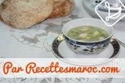 Soupe Poireau & Crevettes - Shrimp & Leek Soup - شوربة الكرات