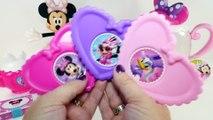 Disney Minnie Mouse Bowtastic Tea Pot Set~Daisy~Tea Party Set~Opening~Play Doh Cookies