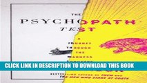 [PDF] Epub The Psychopath Test: A Journey Through the Madness Industry Full Online