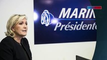 Front national: Marine Le Pen inaugure son QG de campagne (Exclu)