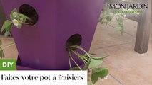 DIY : faites votre pot à fraisiers !