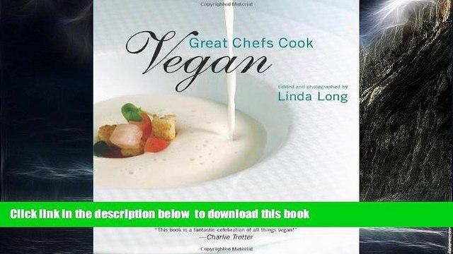 Read book  Great Chefs Cook Vegan online