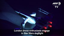 Star Wars drones dogfight in London