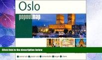 Big Deals  Oslo popoutmap (Popout Map Oslo)  Best Seller Books Best Seller