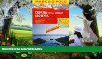 Deals in Books  Croatia/Slovenia Marco Polo Map (Marco Polo Maps)  Premium Ebooks Online Ebooks