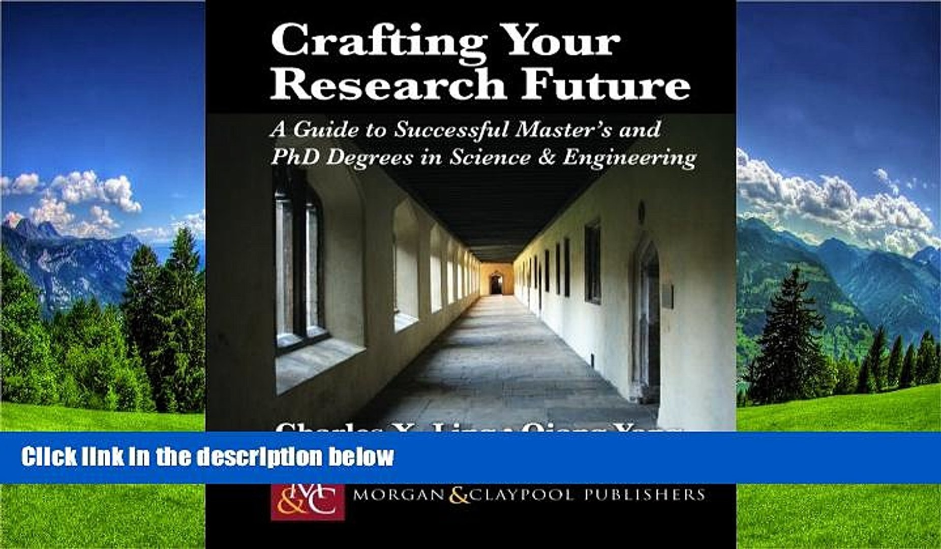 Fresh eBook Crafting Your Research Future: A Guide to Successful Master s and Ph.D. Degrees in