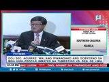 Sec. Aguirre: Walang ipinangako ang gobyerno sa mga inmates na tumestigo vs Sen. De Lima