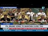 PH, Brunei vows to maintain close ties