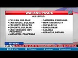 Mga klase sa ilang lugar sa Luzon kasama ang Metro Manila, sinuspinde