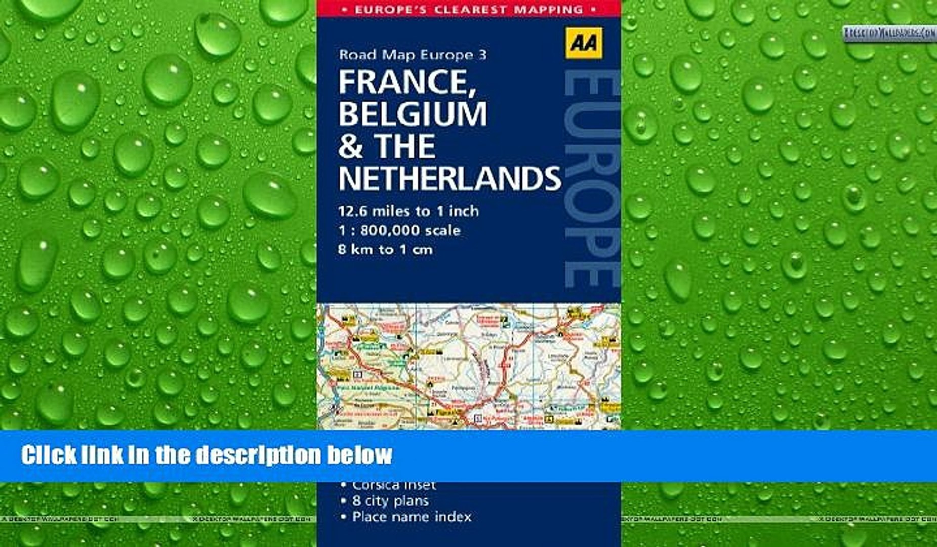 Buy Now Road Map France Belgium The Netherlands Road Map Europe Premium Ebooks Online Ebooks Video Dailymotion
