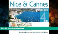 Deals in Books  Nice   Cannes PopOut Map (PopOut Maps)  Premium Ebooks Best Seller in USA