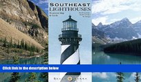 Deals in Books  Southeast Lighthouses Illustrated Map   Guide: North Carolina, South Carolina