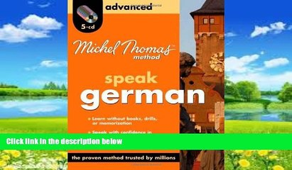 Books to Read  Michel Thomas Method German Advanced, 5-CD Program (Michel Thomas Series)  Full